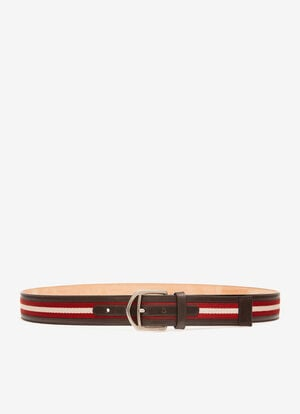 RED SYNTHETIC Belts - Bally