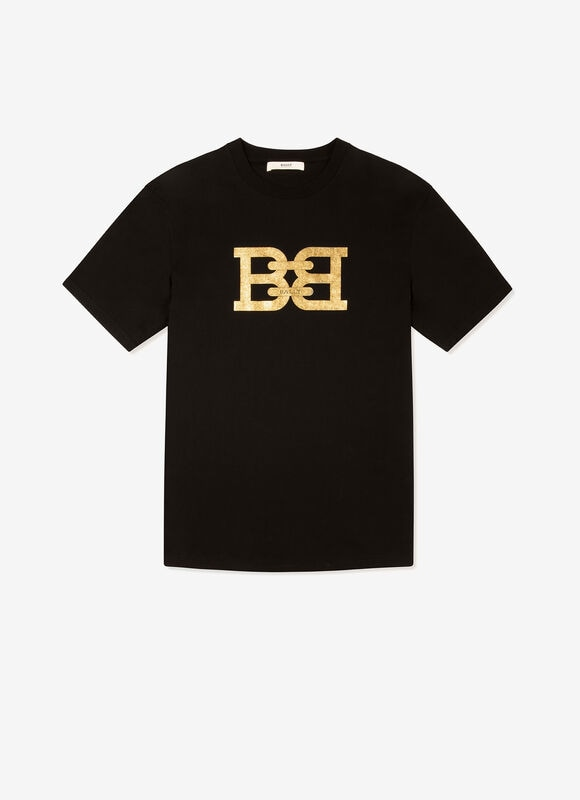 BLACK COTTON Shirts and T-Shirts - Bally