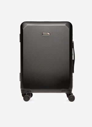 BLACK POLYCARBON Travel Bags - Bally