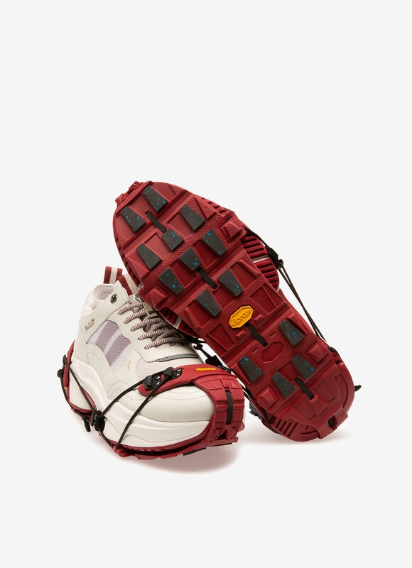 RED RUBBER Sneakers - Bally