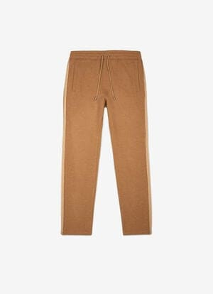 BROWN CAMEL HAIR Pants - Bally