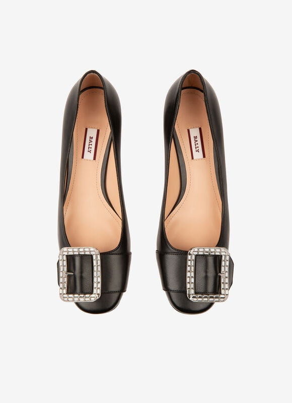 BLACK CALF Pumps - Bally