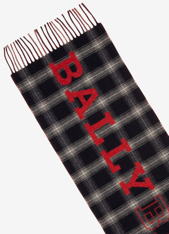 MULTICOLOR WOOL Scarves - Bally