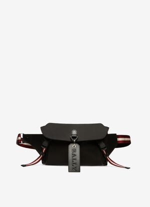 BLACK NYLON Belt Bags - Bally
