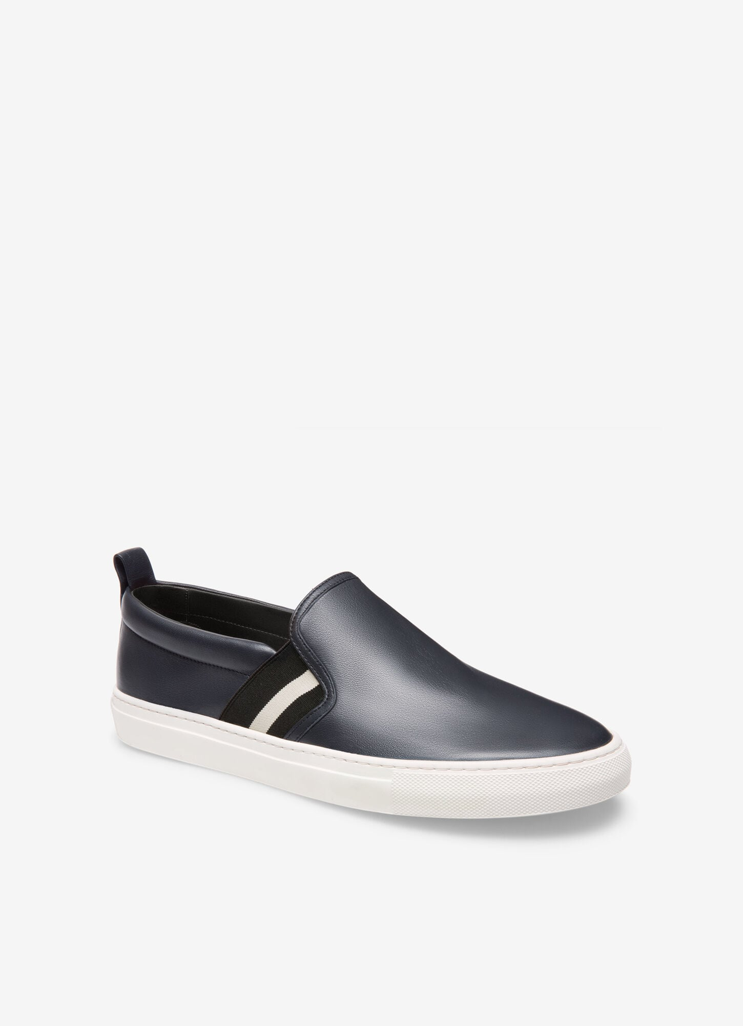 HERALD| Mens Sneakers | Navy Leather