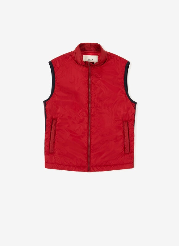 RED POLYESTER Outerwear - Bally