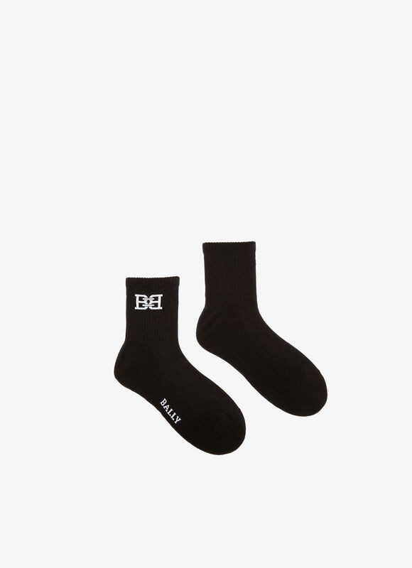 BLACK MIX COTTON Socks - Bally