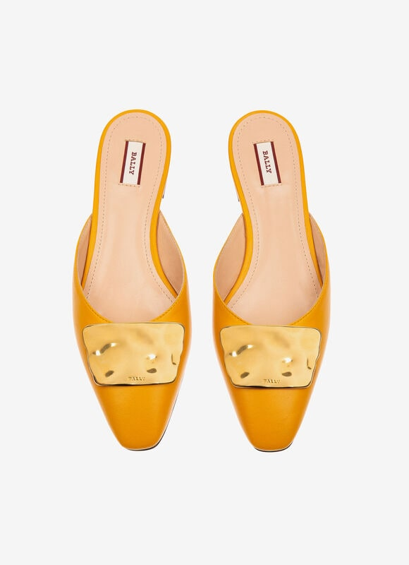 YELLOW LAMB Flats - Bally
