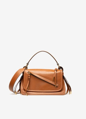 BROWN CALF Top Handle Bags - Bally