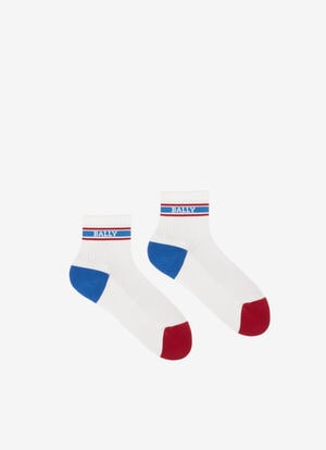 BLUE MIX COTTON Socks - Bally