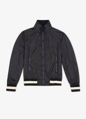 BLUE POLYAMIDE Outerwear - Bally