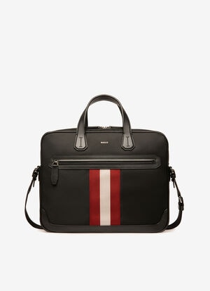BLACK FABRIC Business Bags - Bally