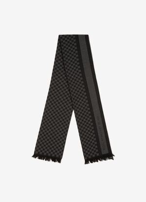 BLACK WOOL Scarves - Bally