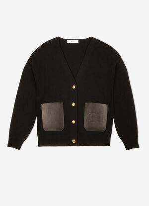 BLACK MIX WOOL Knitwear - Bally