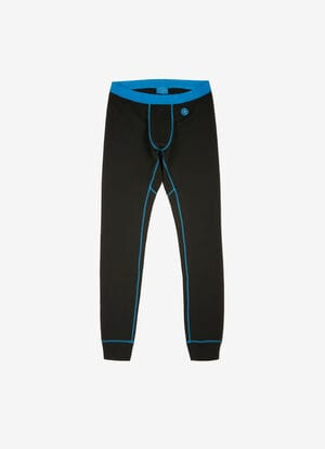 BLACK POLYESTER Pants - Bally