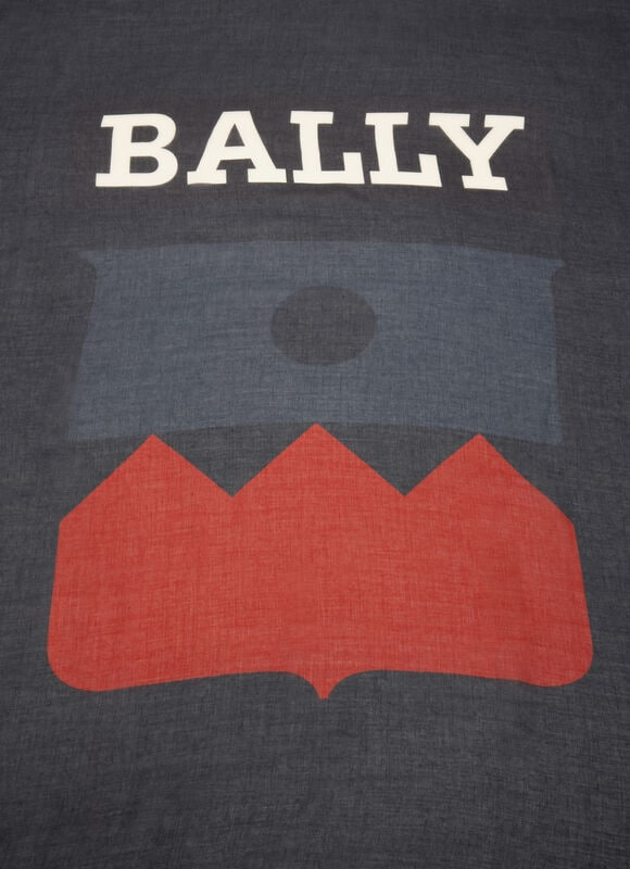 BLUE MIX WOOD/SYNTH Scarves - Bally