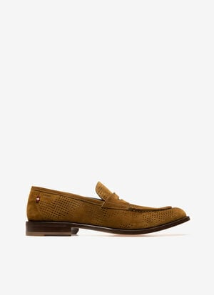 GREEN BOVINE Loafers and Moccasins - Bally