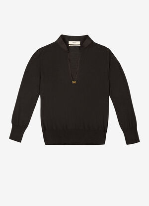 BLACK WOOL Knitwear - Bally