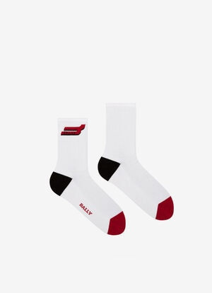 RED MIX COTTON Socks - Bally