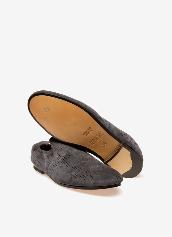 GREY BOVINE Loafers and Moccasins - Bally