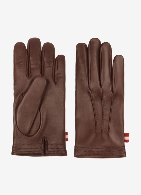 BROWN LAMB Gloves and Hats - Bally