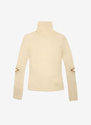 NEUTRAL MIX WOOL Tops - Bally