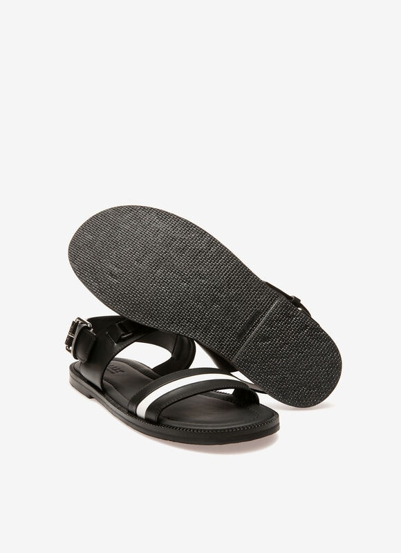 BLACK CALF Sandals and Slides - Bally
