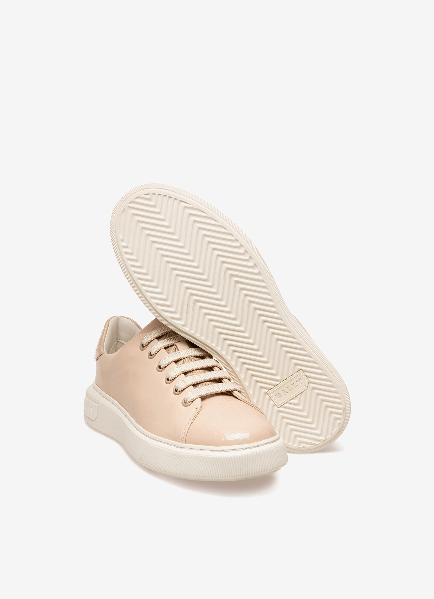 Marlys  Womens Sneakers   Pink Leather