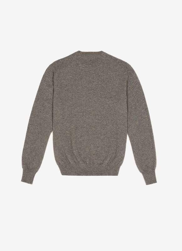 GREY MIX WOOL/CASHMERE Knitwear - Bally