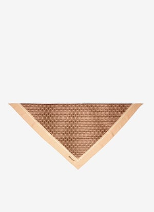 BEIGE SILK Scarves - Bally