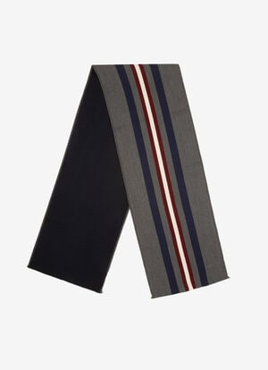 GREY WOOL Scarves - Bally