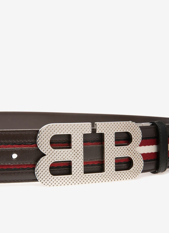 BLACK SYNTHETIC Belts - Bally