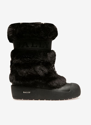 BLACK CALF Boots - Bally