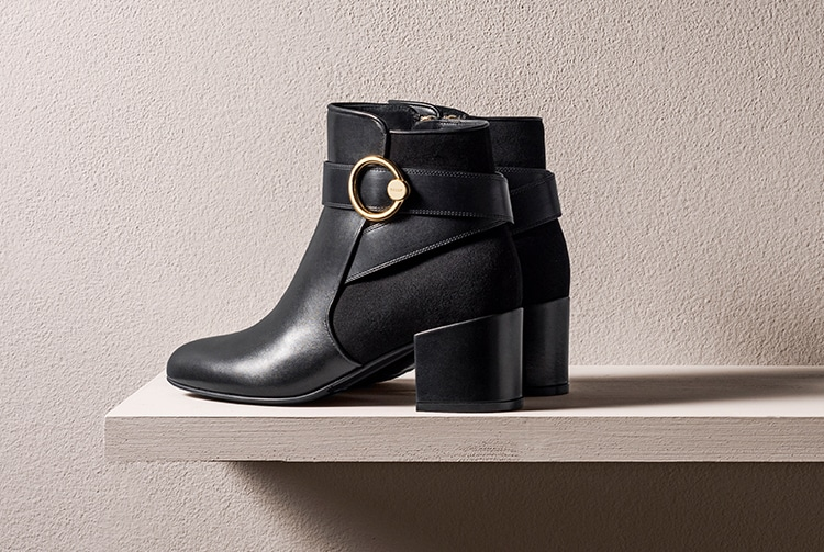 Bally's beautiful black boots