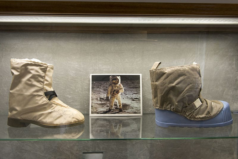 Bally Shoe Museum hiking boots