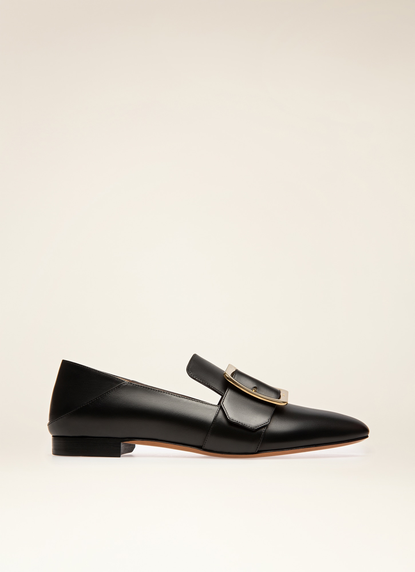f60bf7357a43 BLACK CALF Flats - Bally